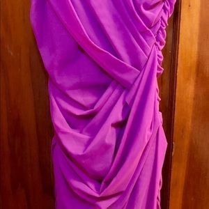 Cache Dresses - Cache Bright Plum New w/Tags Cocktail Dress Size 4